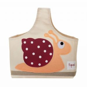 3 Sprouts Storage Caddy - Snail